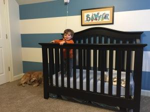 Sawyer's bed