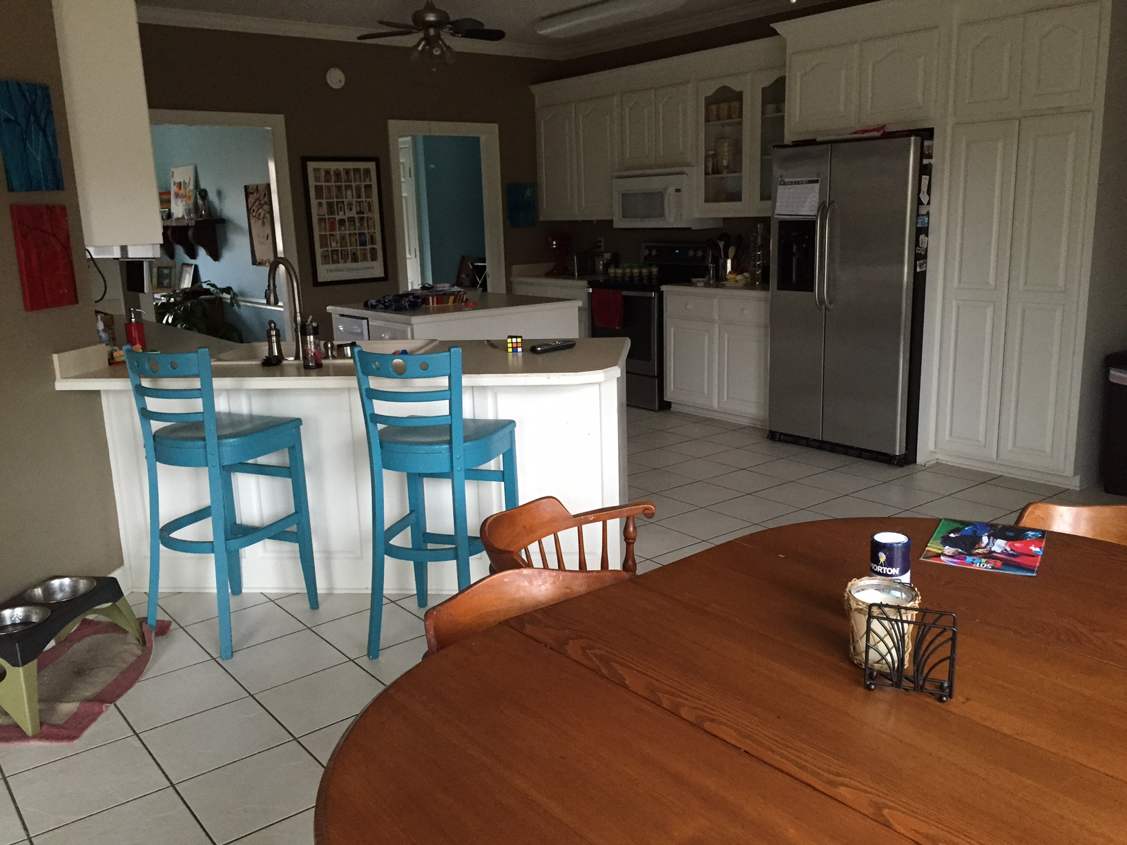 Mopping Kitchen Floor Retired Arkansas Home Builder Assaulted By Blogger Tired Of