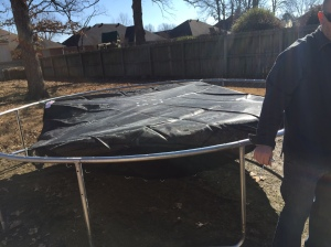 Dante's 5th circle of hell? Nah, that's our trampoline!